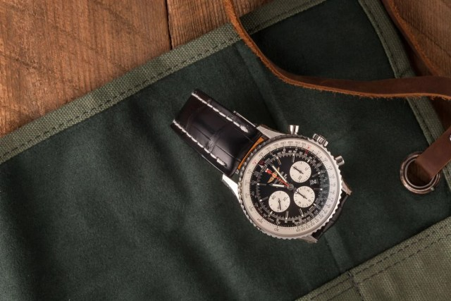 Best Watches Worn by Movie Stars Inside The Film Industry Breitling Navitimer