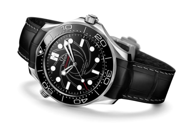 New Omega Seamaster Diver 300M James Bond Numbered Edition in Platinum-Gold Watch