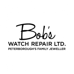 Logo for Bob's Watch Repair - Peterborough's Family Jeweller and Jewellery Store