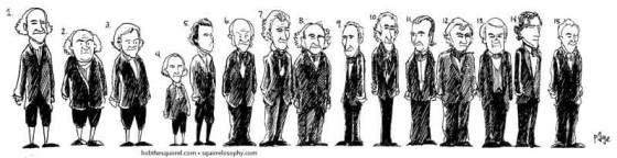 US Presidents 1-15 by Frank Page