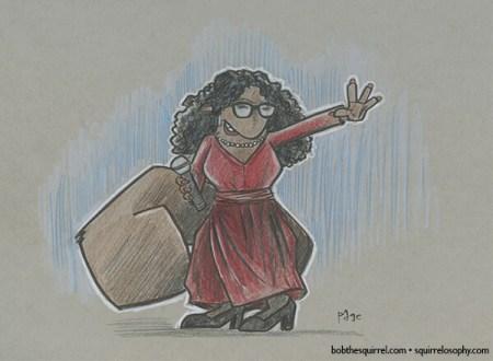 Media pioneer Oprah Winfrey