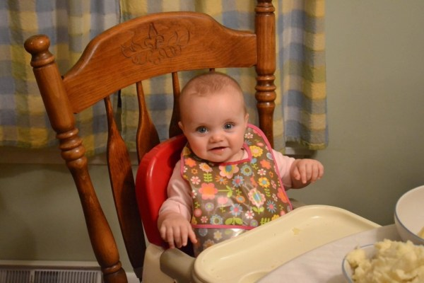 Méabh's first Thanksgiving was our last one in Brocton (at least for a while).