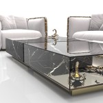 Marble Coffee And Side Table Designs On Home Interiors