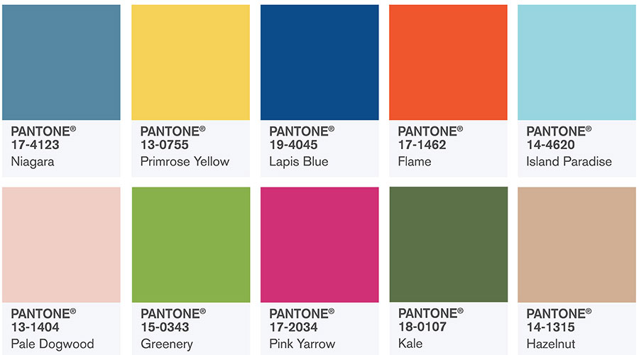 Fall 2017 Pantone Color Year