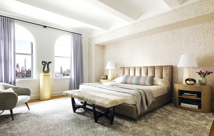 Modern Apartment Revamped Art-Filled Modern Apartment in NY Historic Building new york apartment 11