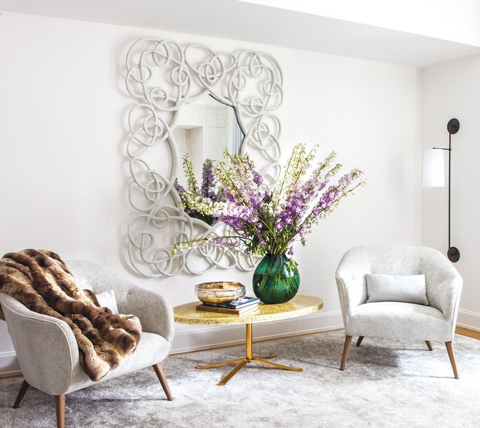 Revamped Art-Filled Modern Apartment in NY Historic Building Modern Apartment Revamped Art-Filled Modern Apartment in NY Historic Building new york apartment 3