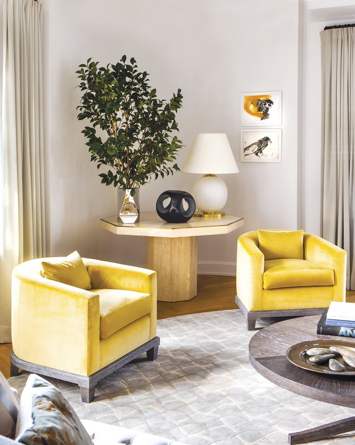 Revamped Art-Filled Modern Apartment in NY Historic Building Modern Apartment Revamped Art-Filled Modern Apartment in NY Historic Building new york apartment 5