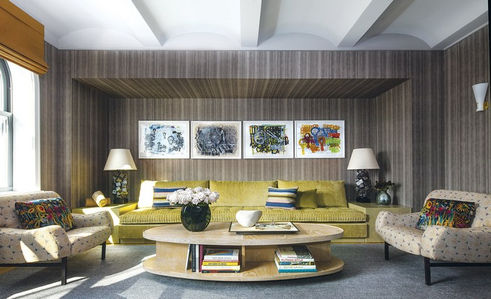 Modern Apartment Revamped Art-Filled Modern Apartment in NY Historic Building new york apartment 6