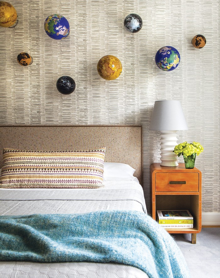 Modern Apartment Revamped Art-Filled Modern Apartment in NY Historic Building new york apartment 8