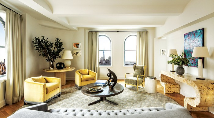 Revamped Art-Filled Modern Apartment in NY Historic Building Modern Apartment Revamped Art-Filled Modern Apartment in NY Historic Building new york apartment 9
