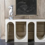 10 Sculptural Console Tables For Sublime Entryway