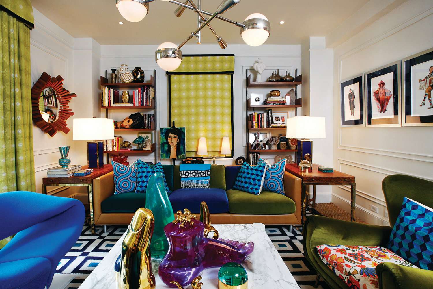 Jonathan Adler S Greenwich Village Apartment The Tour