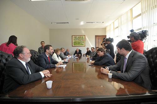 O presidente da Sanepar Fernando Ghignone  este hoje com os deputados na Assembleia Legislativa para explicar sobre o capital no projeto de lei da empresa