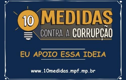 Paraná é o segundo estado com mais assinaturas na campanha 10 Medidas Contra a Corrupção