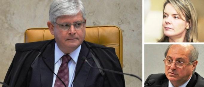 Janot rebate Senado e diz que casa de Paulo Bernardo não é imune a buscas
