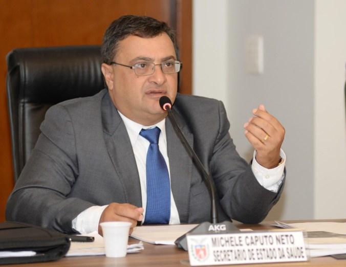 Michele Caputo Neto, secretário estadual da Saúde do Estado do Paraná. Curitiba,29/02/2016