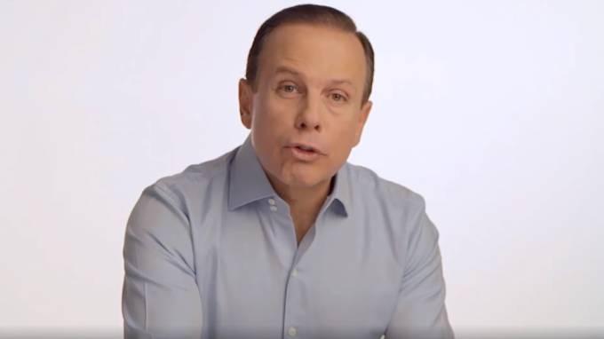 Doria lidera disputa por governo paulista em todos os cenários