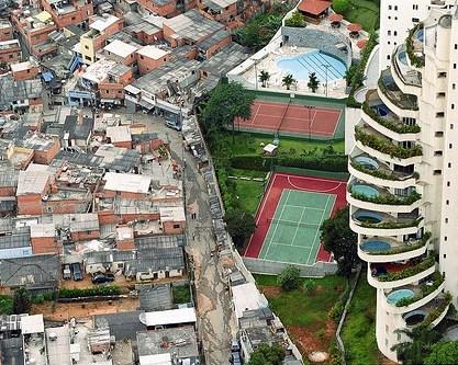 10% concentra 50% da renda do país