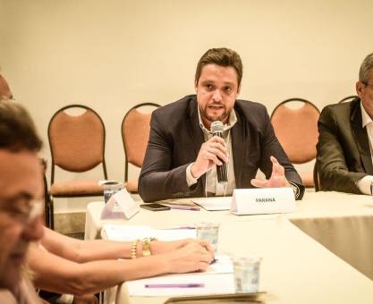 Tiago Baccin - Presidente da Imprensa Oficial do Paraná - Foi eleito Diretor Geral da Região Sul do Brasil das Imprensas Oficiais Brasileiras.