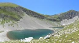 Panoramica del Lago di Pilato
