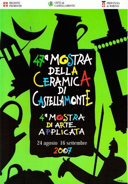 Nicola Boccini, 47 ° ceramic art exhibition at Palazzo Botton Castellamonte Turin