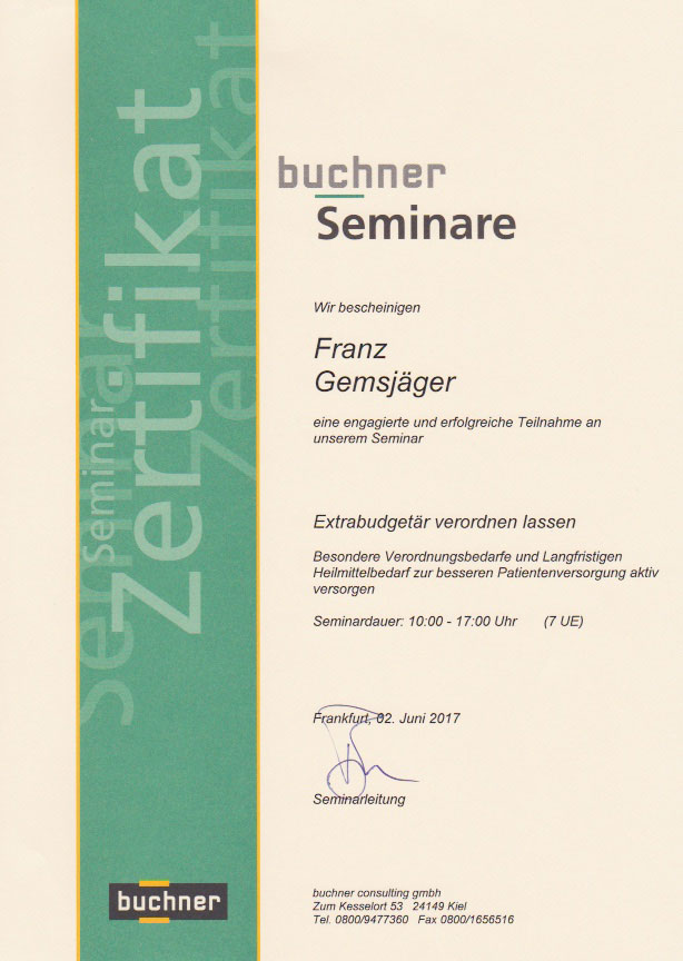 buchner - Zertifikat (02.06.2017)