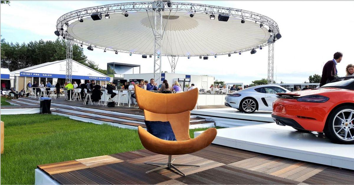 BoConcept Experience stellt das Gewinnspiel für die Porsche European Open vor
