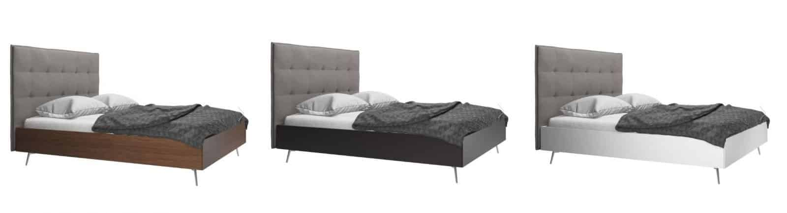 lugano design bett by boconcept boconcept experience hamburg am fischmarkt. Black Bedroom Furniture Sets. Home Design Ideas