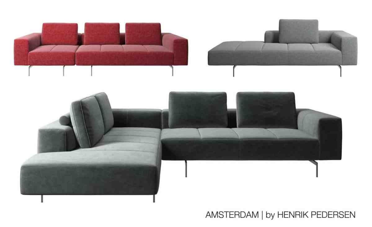 boconcept experience amsterdam sofa Modul Stoffvielfalt - Amsterdam Sofa by Henrik Pedersen
