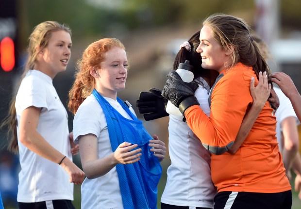 Silver Creek High School goalkeeper Natalie ...