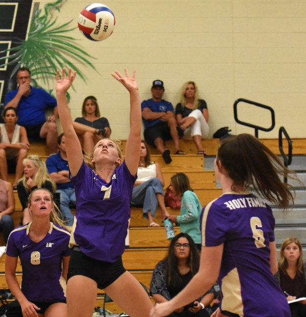Holy Family's Carly Trostel sets a ...
