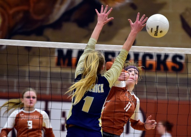 Mead High School's Phoenix Wilke goes ...
