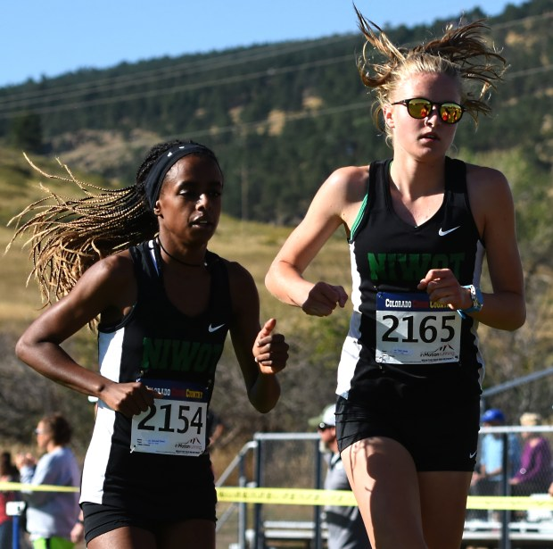 Niwot's Samrawit Dishon, left, and Taylor ...
