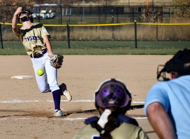 Holy Family's Cassidy Chvatal spins a ...