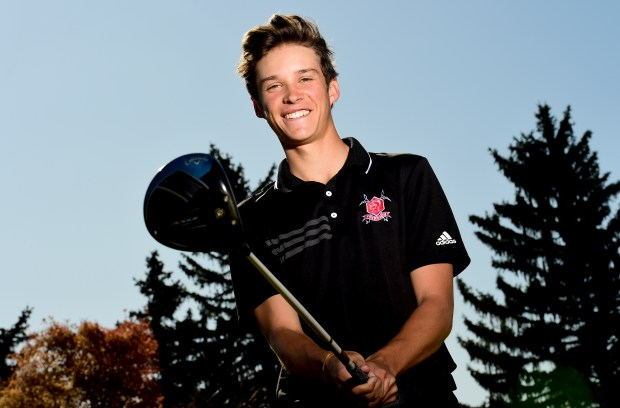 Fairview High School's Ryder Heuston poses ...