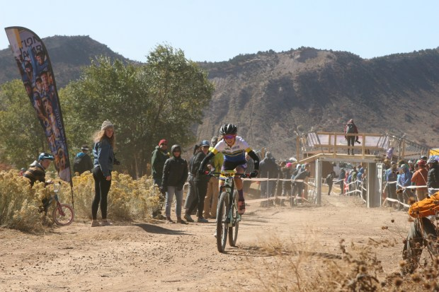Boulder's Madigan Munro rides through the ...