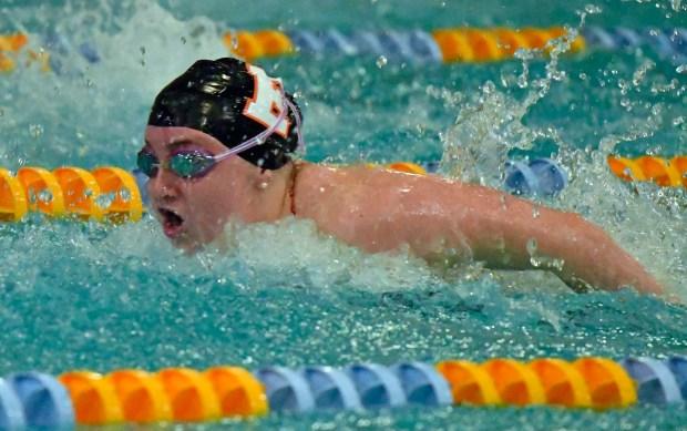 Payten Irwin of Erie swims in ...