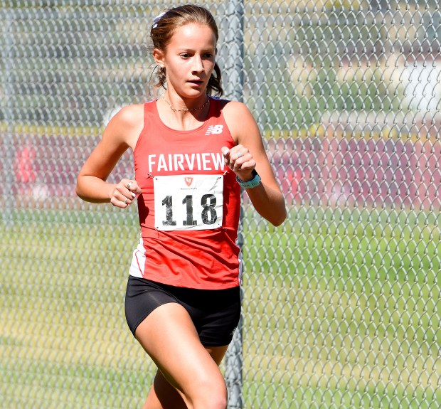 Fairview's Imani Fernandez-Gorbea races during the ...