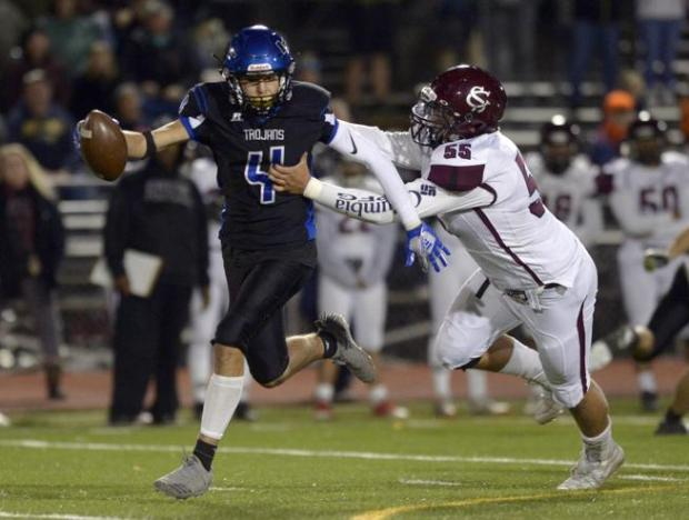 Silver Creek's Sam Dirks tackles Longmont's ...