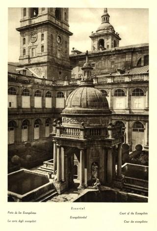 patio de los Evangelistas de El Escorial