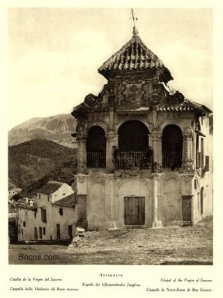 capilla de la Virgen del Socorro en Antequera