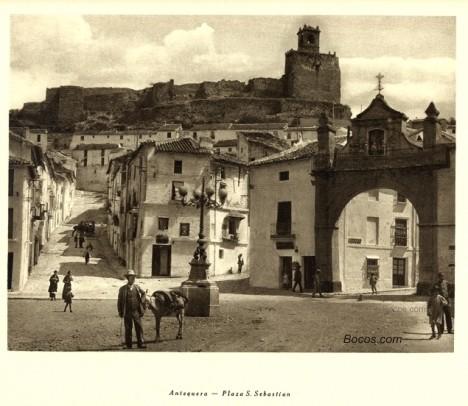 plaza de San Sebastián en Antequera