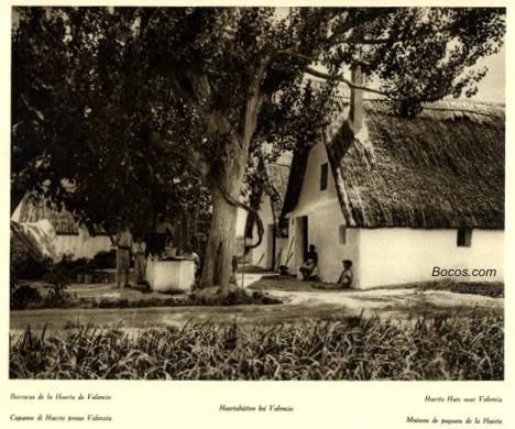 barracas de la huerta valenciana