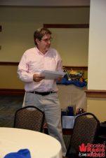 Mark Krieger úr 13 évig volt a WJCU rádió igazgatója