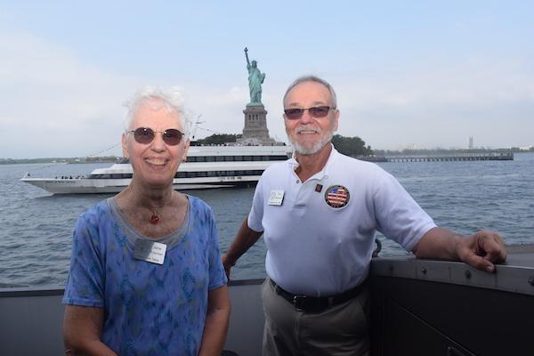 Jane Protzman and Eric Matherne