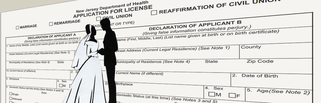 Como Solicitar una Licencia de Matrimonio en NJ - Boda Civil New Jersey