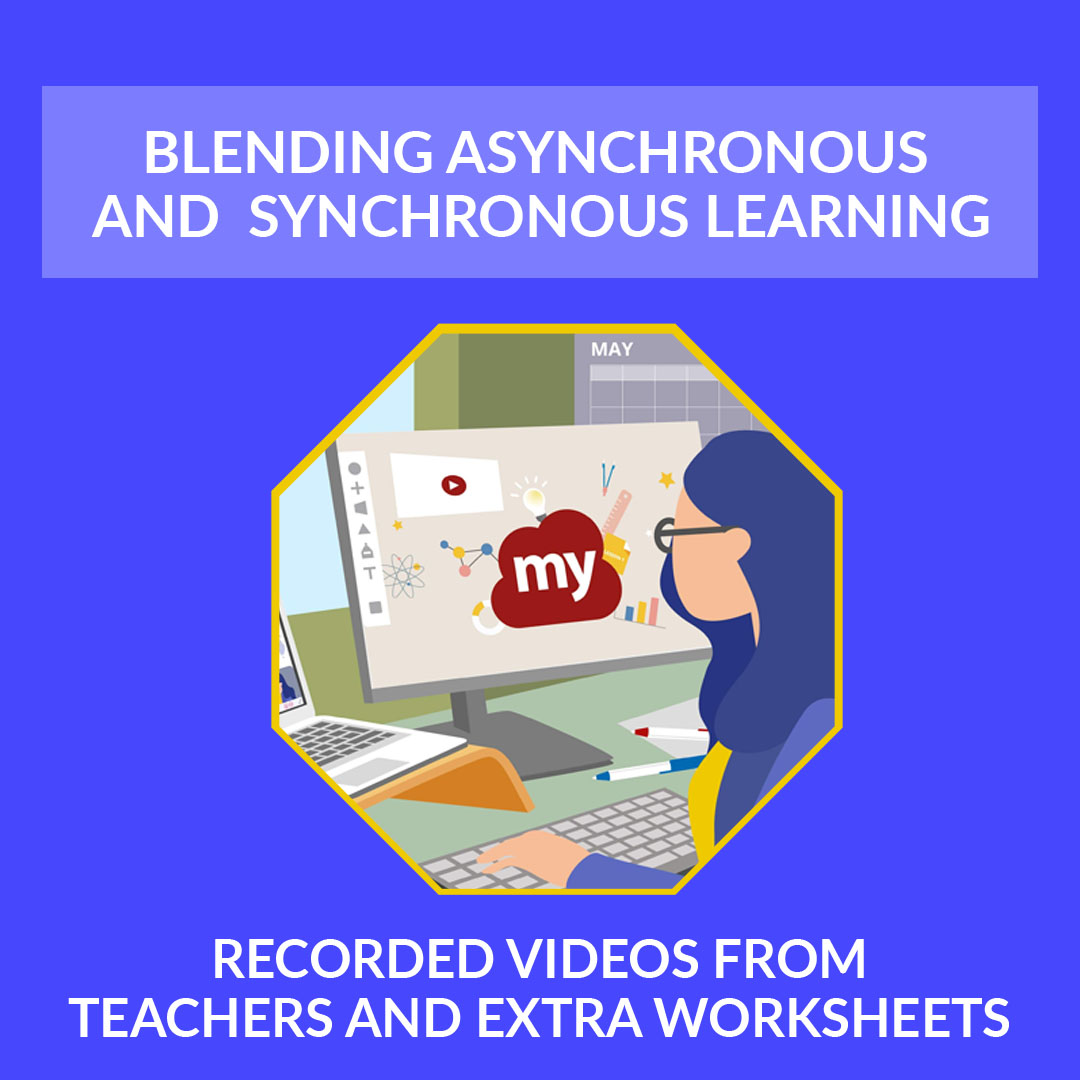Recorded Videos From Teachers And Extra Worksheets