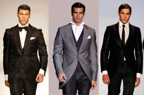 trajes de novios boda