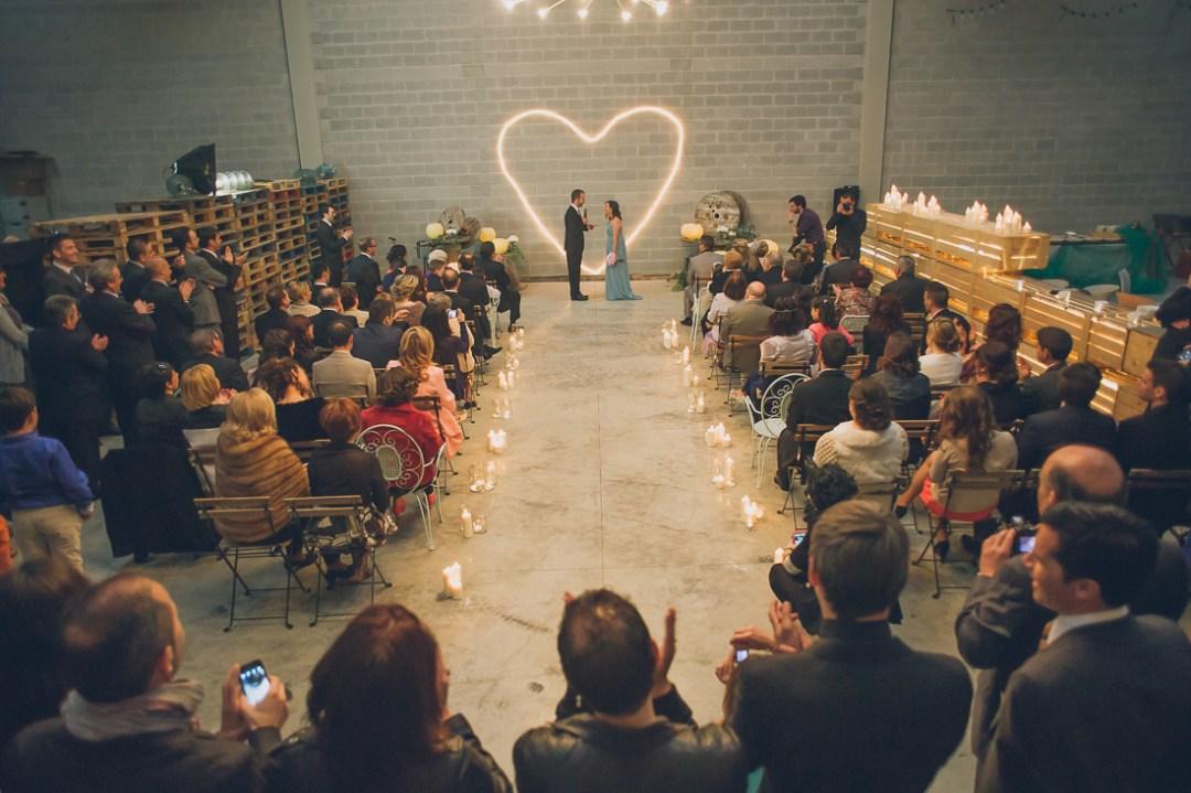 ceremonia boda industrial españa www.bodasdecuento.com