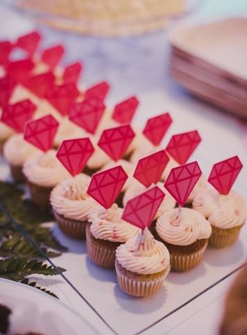mini cupcakes boda www.bodasdecuento.com